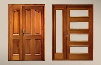 Puertas en madera Ref. 4101
