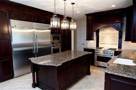 cocina amplia grande y moderna